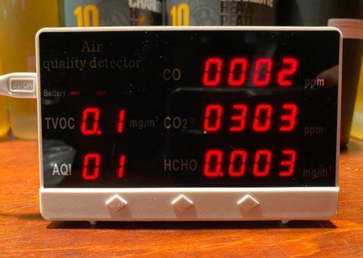 CO2測定器