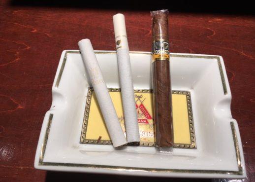 煙草とドライシガー