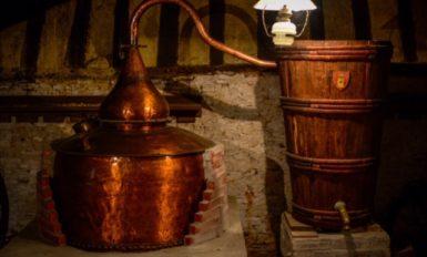 アルマニャックの蒸留器
